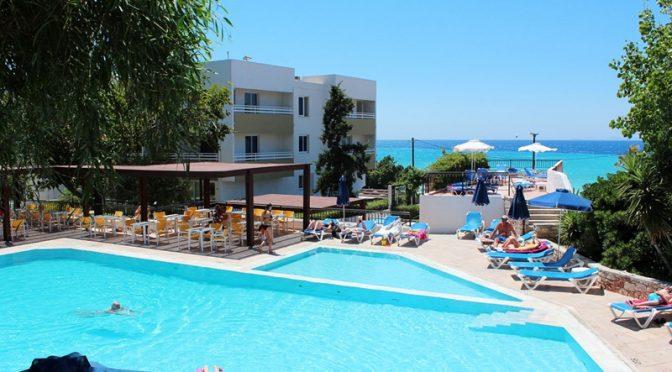 Sirene Beach Aparthotel, Kritika, Rhodos, Griekenland